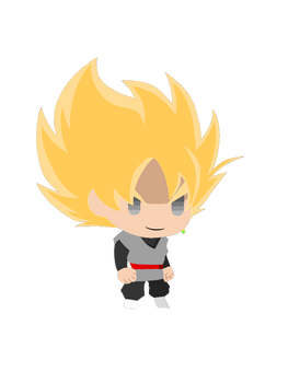 Goku Black SSJ (JoJos BA PPP Style)