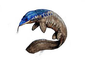 Taniwasaurus antarcticus by SebasRuna