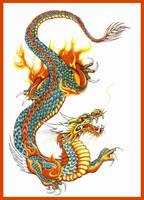 Asian Dragon by Xanadra