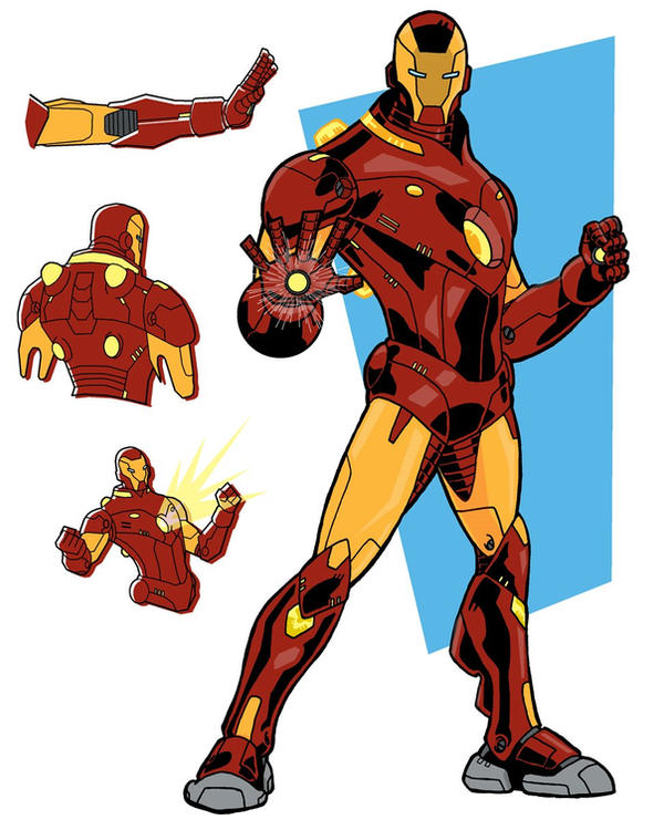 DeviantArt: More Like TRDL - Iron Man Stealth Armor by ...