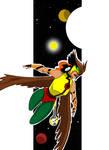 Hawkwoman colored
