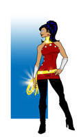 Lady Troy Wondergirl Redesign