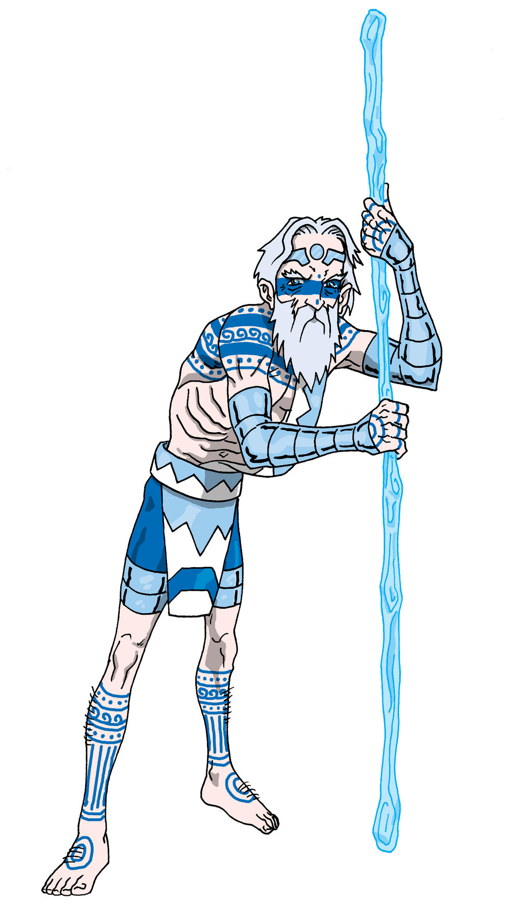 Old Man Winter 2016 by onecoyote