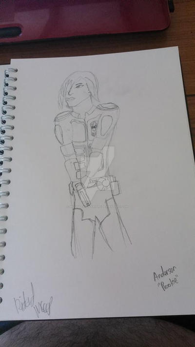 Anderson *Rookie* from the film Dredd by McCoys-Man-Krisps