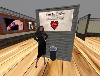 Kate McCridhe - Philistine Artist, Quat Gallery by Kate-McCridhe