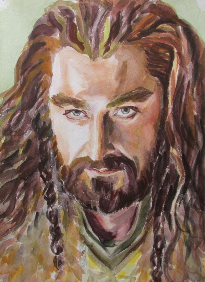 Richard Armitage as Thorin by Greencat85