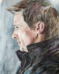 Jeremy Renner as Clint Barton by Greencat85
