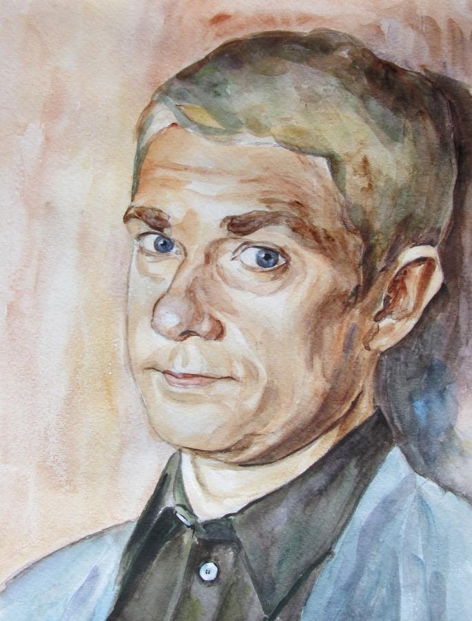 Martin Freeman as John Watson 20 by Greencat85