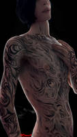 Vergil's tattoos by CiaccisSweetDecay
