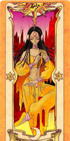 Clow Card - The Sand - Colored