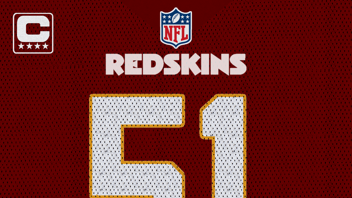 Will Compton Washington Redskins Wallpaper by 0R4NG3R41N on