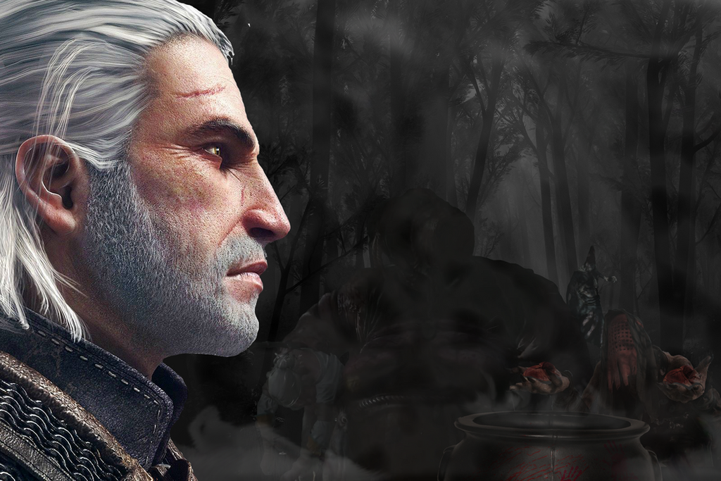 Geralt's Nightmare by Kubickeck