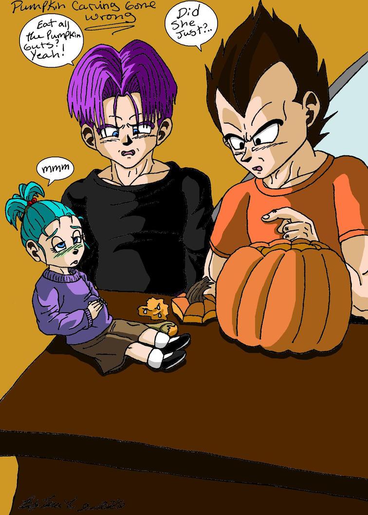 Vegeta Pumpkin Carving: Pumpkin Carving Gone Wrong By Iziume89 On DeviantART
