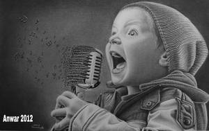 Boy with Real Talent by Artist-Shadow