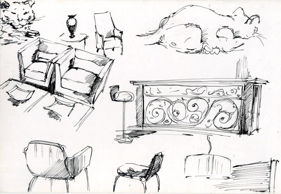 Fast Sketch Of Int. Objects By Hardcorish On DeviantArt