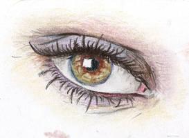 Eye study by hardcorish