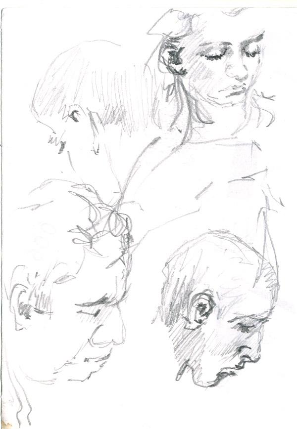 Subway faces 1 by hardcorish