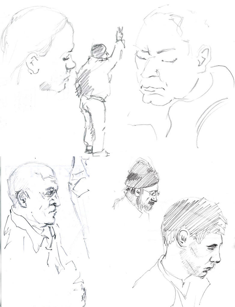 4 Sketches 3 by hardcorish