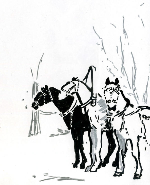 Snow Sledge by hardcorish