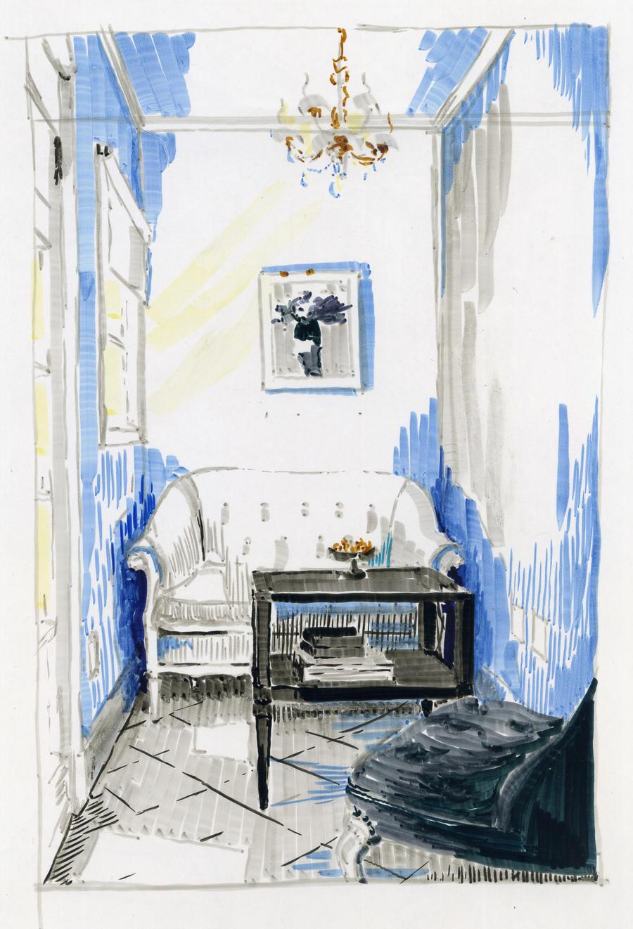 Blue Room 2 by hardcorish
