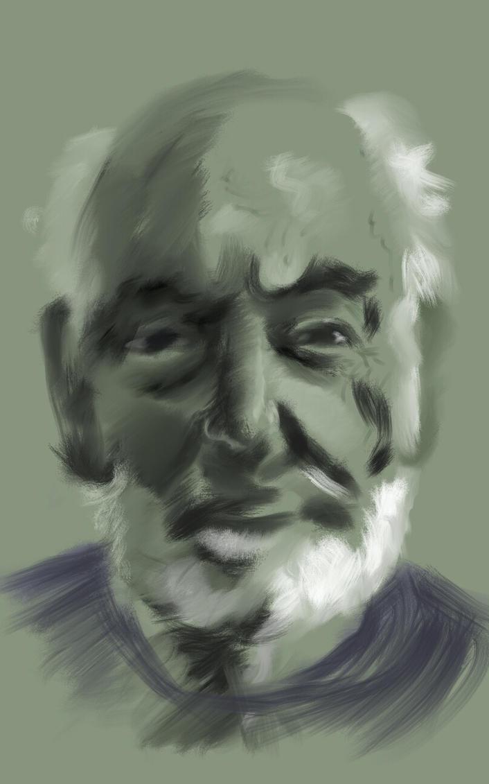portrait of my father by hardcorish