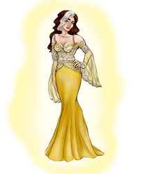 Rogue in a Gown!