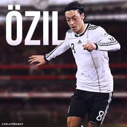 Mesut Ozil by alidesignr