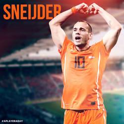 Wesley Sneijder by alidesignr