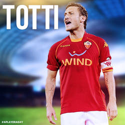 Francesco Totti by alidesignr