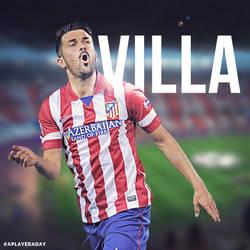 David Villa by alidesignr