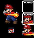 Pixel Art Mario SSF2 DB7
