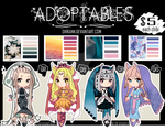 Adoptables - Palette Maidens $5 or Points (OPEN)
