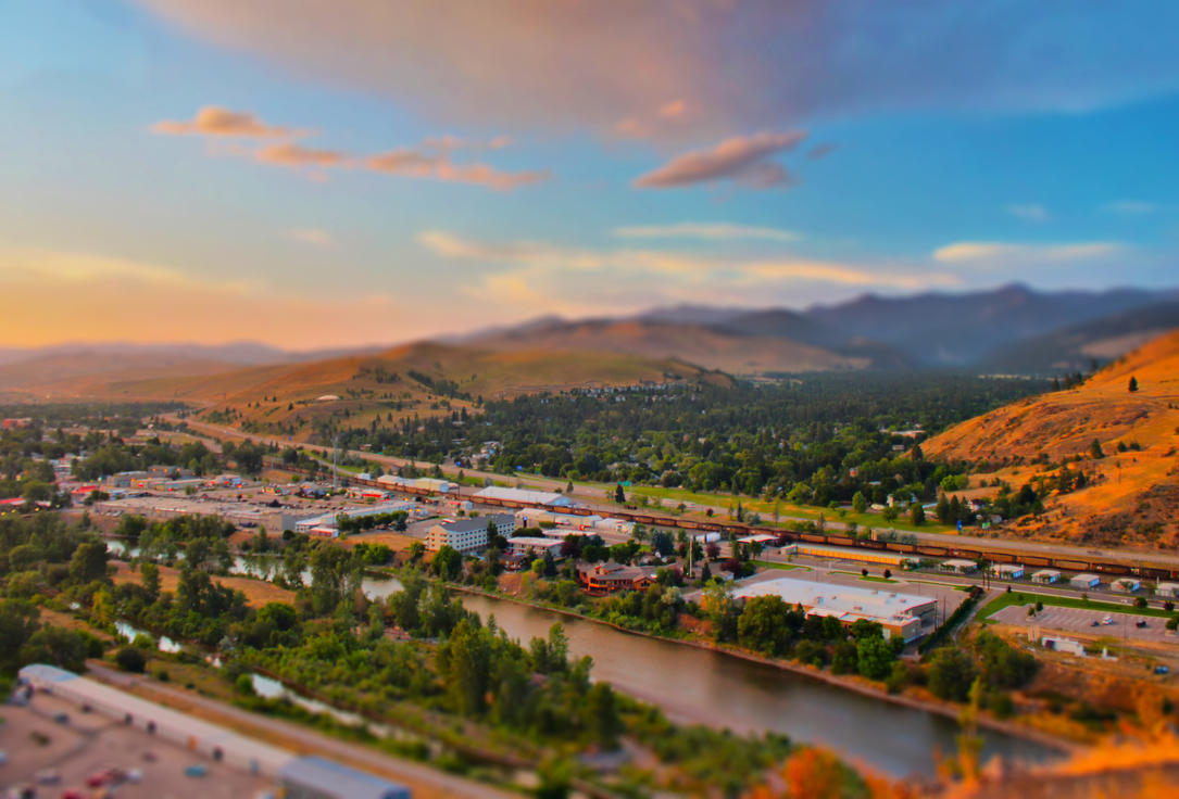 Missoula, MT by Halcyon1990