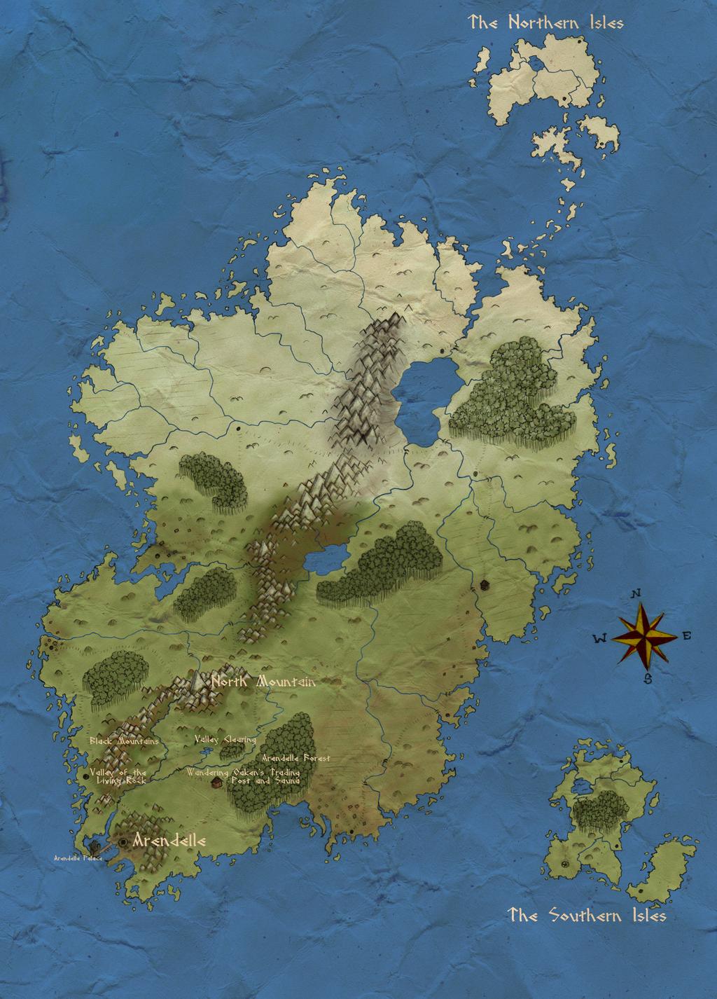Map of Arendelle by heyitsthattgirl on DeviantArt