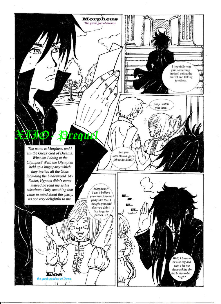 Prequel XIIO page 1 by chromic7sky