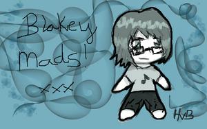 Me - chibi by Blakey-mads