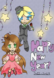 Toby and Veronica - new year by Blakey-mads