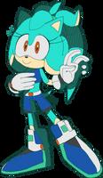 .:Sonic Riders:.(Kira Blue) by BlueBlurApple