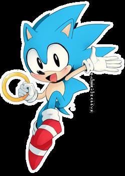 .:FANART:. Classic Sonic