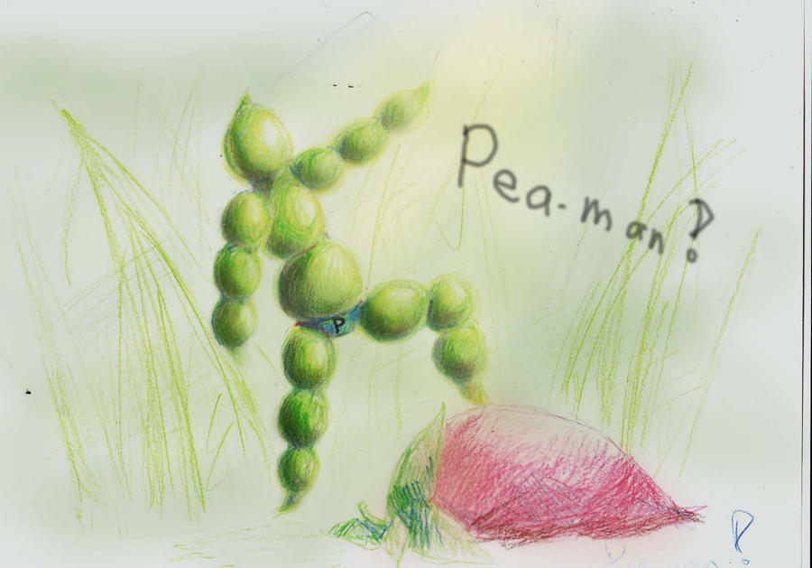 peaman by aDollInDisguise