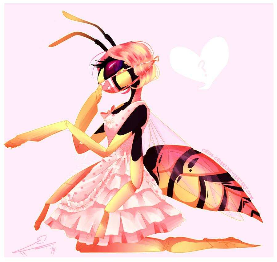 Lolita Wasp OC by Chibi-Chiaki