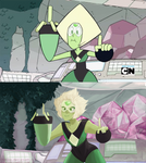 Screenshot redraw - Peridot (Steven Universe)