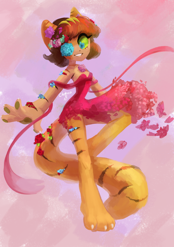 May Flower by Chokico