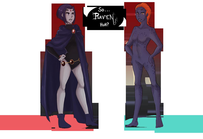 Raven the superhero nude — img 8