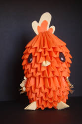 origami torchic by awka6