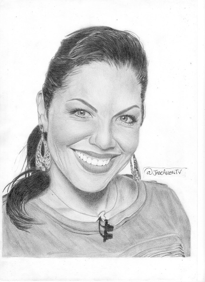 Drawing Lines Grey S Anatomy : Sara ramirez drawing grey s anatomy by jadeallentv on