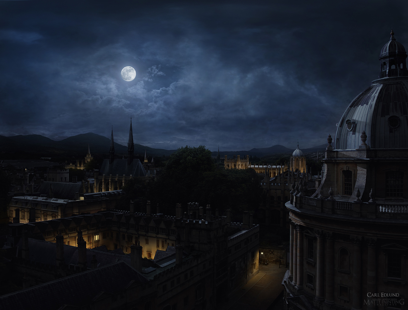 Across the rooftops night by carledlund on deviantart across the rooftops night by carledlund baditri Gallery