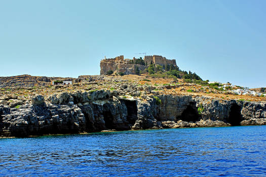 Greece, Rhodes, Lindos Acropol