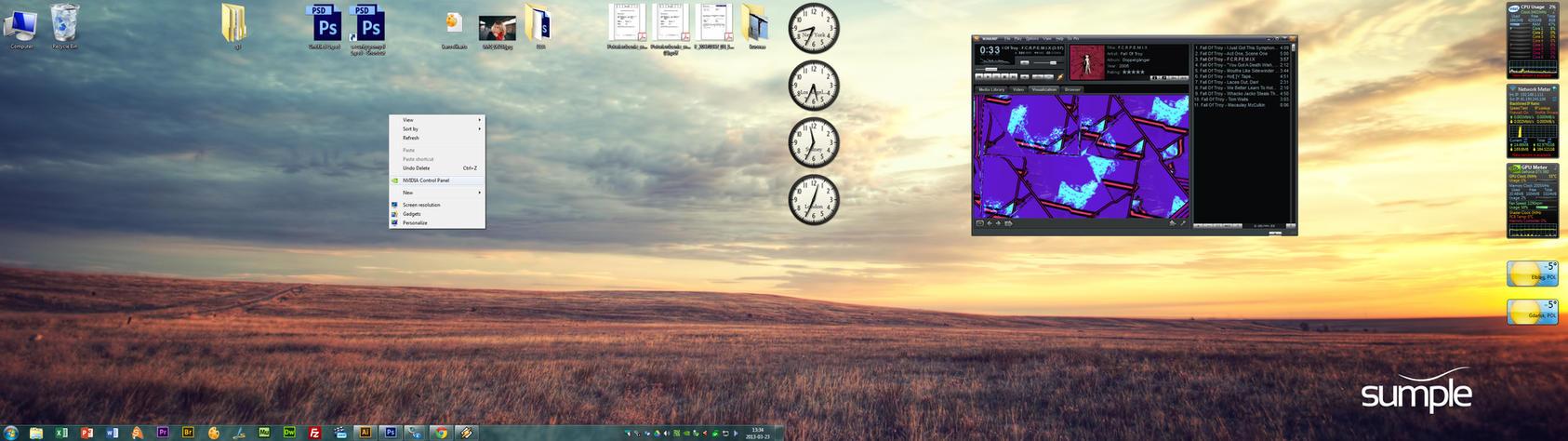 Desktop 2013 by sumowski