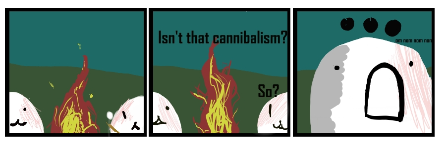 Cannibalism by Toderico